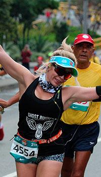 Corredores Maratón de las Flores 2016