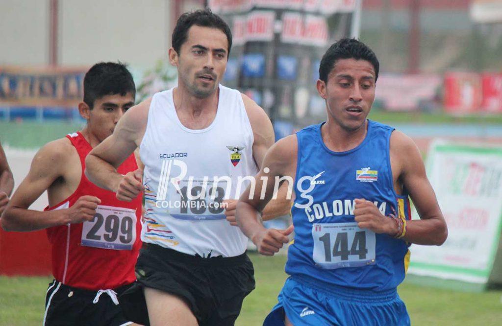 Mauricio González,  figura en el atletismo de fondo colombiano 2