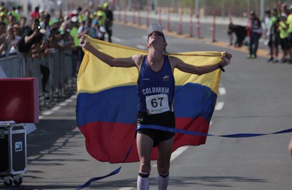 Jeisson Suárez, uno de los valores de Colombia en fondo 2