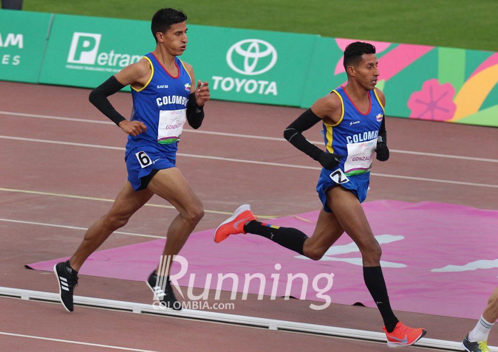Mauricio González,  figura en el atletismo de fondo colombiano 1