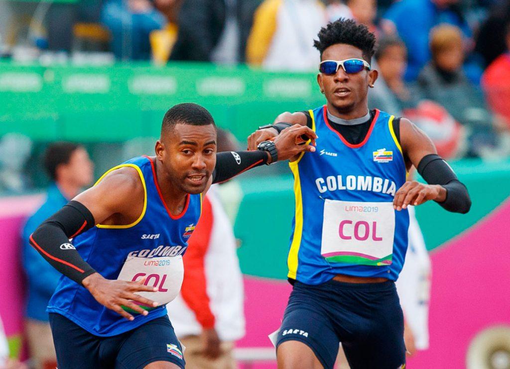 La notable posta 4x400 del atletismo colombiano 2
